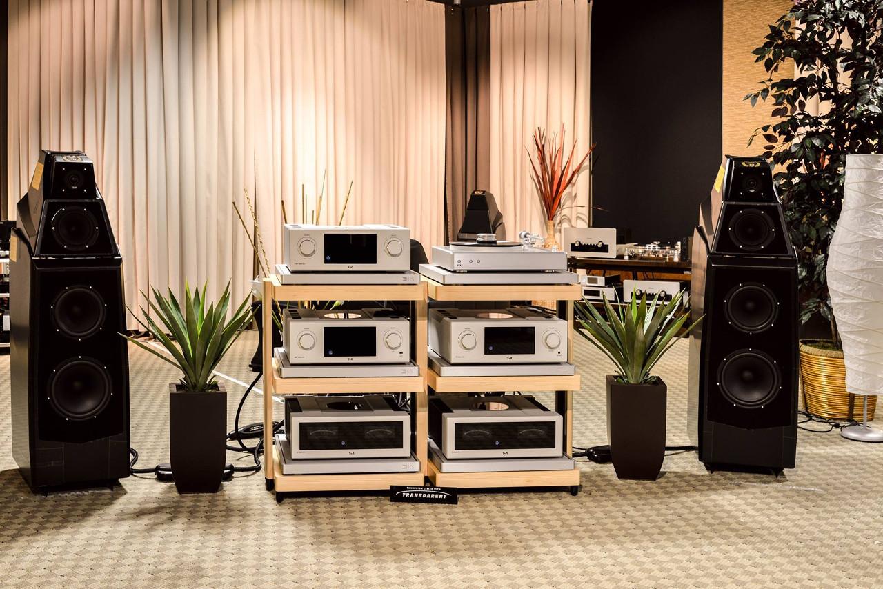 Т+А High Voltage вместе с Wilson Audio