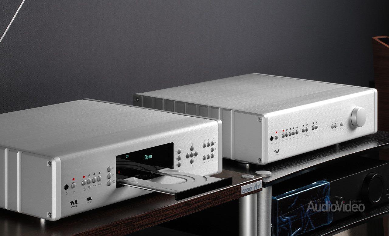 медиаплеер T+A MP 1000 E и интегральный усилитель T+A PА 1000 E