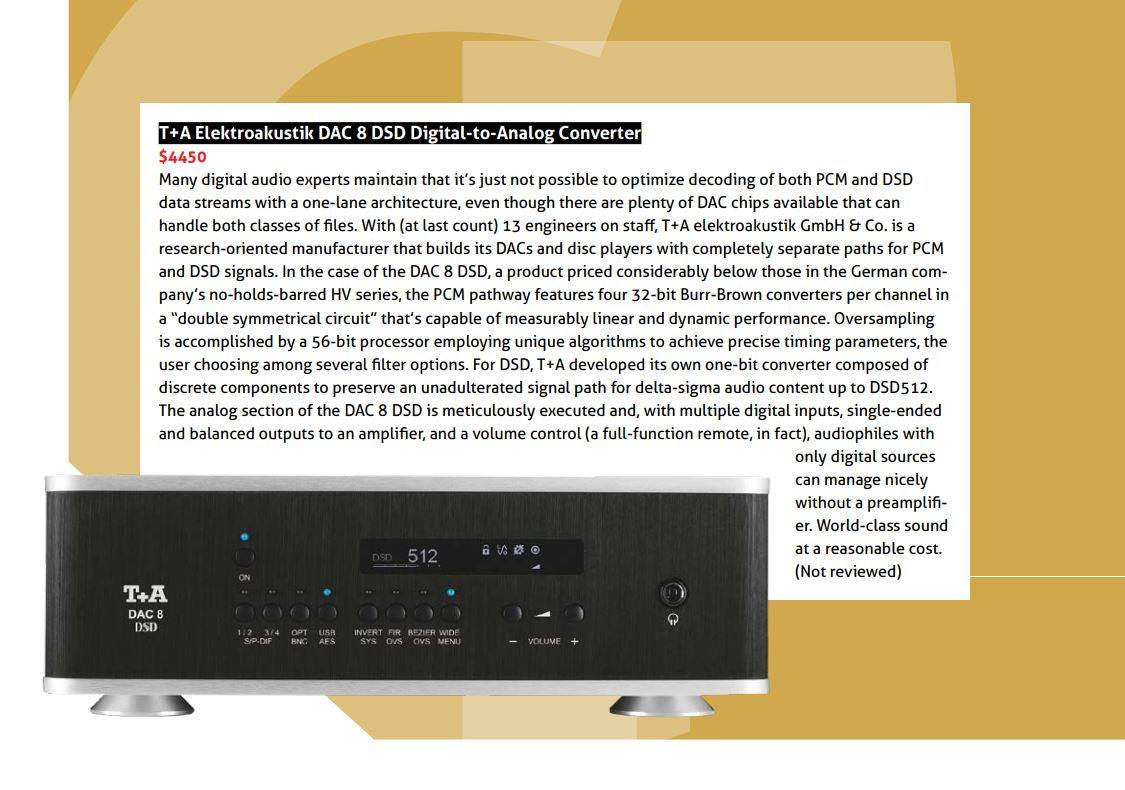 T+A DAC 8 DSD