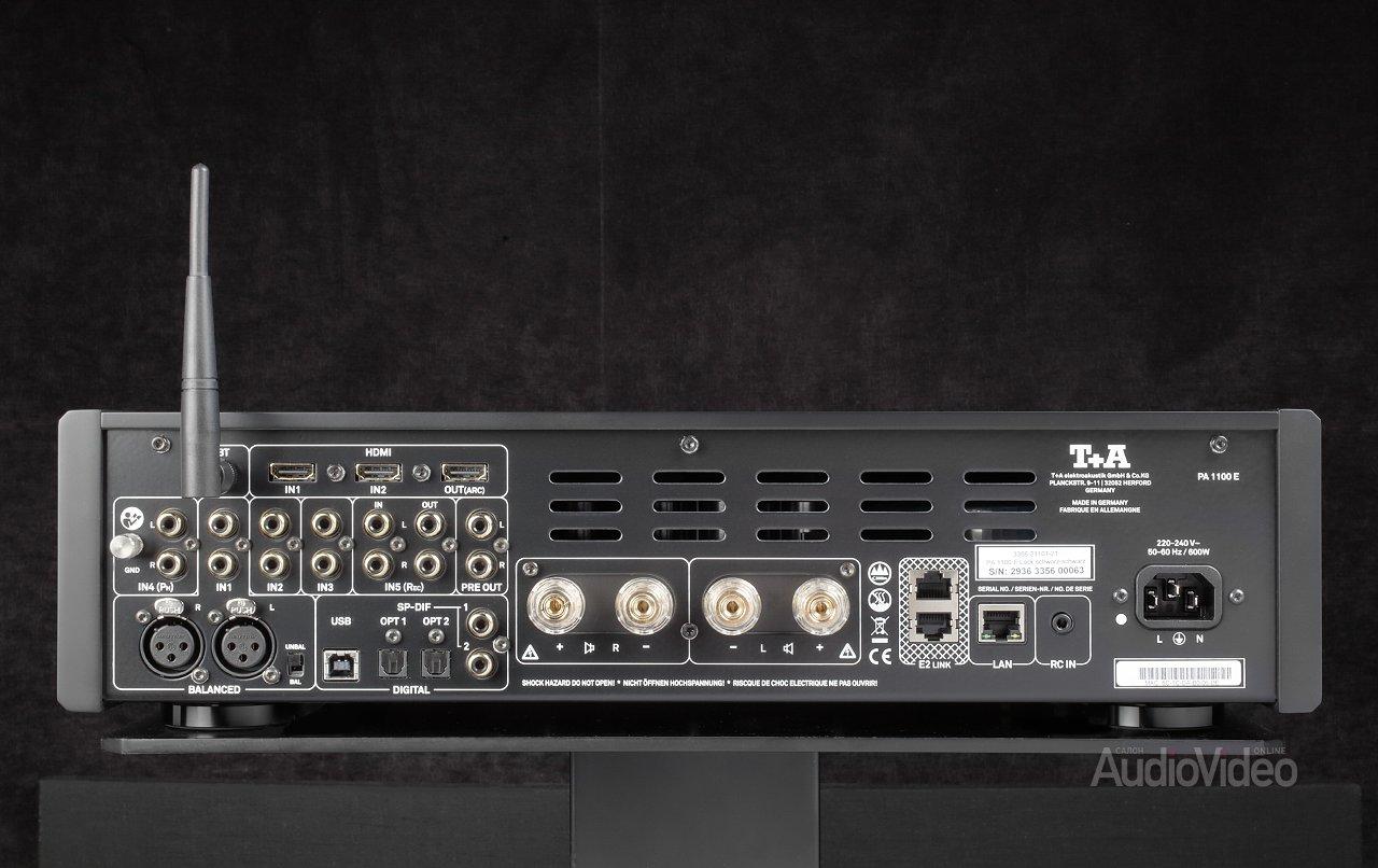 Акустические системы T+A Pulsar ST21 с усилителем PA 1100 E